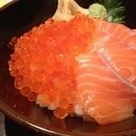 24932921 - 鮭とイクラの親子丼