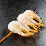 串かつ にし川 - ◆富山産白えび(4月初旬より)◆    富山湾の宝石と称される白えびを素揚げで