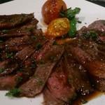 コモードキッチン - 牛ハラミステーキ