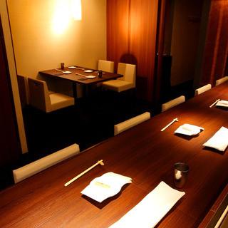 3~6名様までご利用いただけるテーブル席