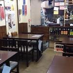 定食・呑み処 まるしょう - 定食・呑み処 まるしょう @葛西 テーブル4卓12席だけの店内