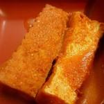 定食・呑み処 まるしょう - 定食・呑み処 まるしょう @葛西 ランチ プルコギ定食の厚揚げ煮物・・・ち~とも辛くありません