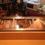 鮨竜 - ネタは鮨竜専属の仲買人により、北海道の台所「札幌市中央卸売市場」から毎日直接買い付け