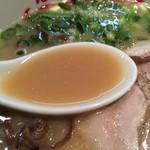 つばめ軒 - 豚骨スープ