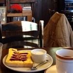 カフェ サルーテ - モーニングサービス エッグトースト