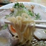 にぼしまじん - まじんしょうゆの麺