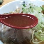 にぼしまじん - まじんしょうゆのスープ