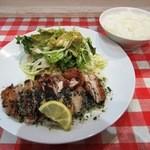 コシード デ ソル - 若鶏のハーブステーキランチ¥1000