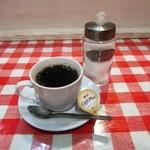 コシード デ ソル - ランチセットの「ホットコーヒー」