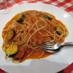 コシード デ ソル - ズッキーニのボロネーゼスパゲティランチ¥1000