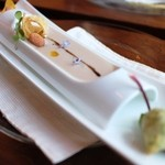 オステリア イル パリアッチョ - ジャガイモの冷製スープ☆