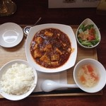 24939649 - 麻婆豆腐ランチセット♪