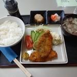 ケトル - アジフライ定食