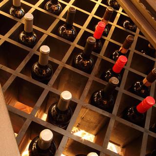 ワイン・シャンパン・カクテルなどドリンクメニューが充実