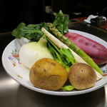 ステーキハウス ハマ - 本日のお野菜