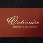 パティスリー ショコラトリー オーディネール - ショップカード表