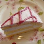 ワイズカフェ - ストロベリーケーキ