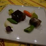 ル カフェ プランタニエ - 和牛のステーキ