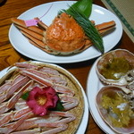 木津館 - 料理写真:調理前の地蟹