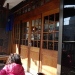 大島屋 - お店の前