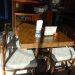 大島屋 - 店内テーブル席