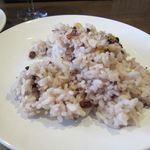 ユルリサロン×ハナウタカフェ - 雑穀米