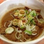 岩鞍山荘 - 料理写真:もつ煮 350円