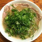 天骨庵 慶心 - 天骨麺(肉増)
