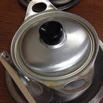 ことり - 鍋焼きうどんはこの鍋が基本!