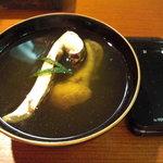 そばきり 沙羅の花 - 【天然】の鰻の肝は立派です。