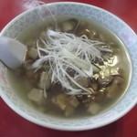 牡丹 - 三崎マグロラーメン 850円