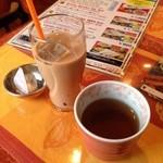 24952954 - ランチのマサラチャイとあったかいお茶