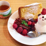 ジジチャリカフェ - トーストシフォン ~Xmas バージョン~ ¥600