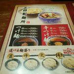 24955507 - 麺の量の説明