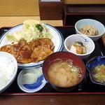 北遥館 - ポークチャップ定食(830円)