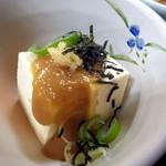 北遥館 - 小鉢の豆腐料理