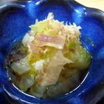 北遥館 - 小鉢の野菜料理