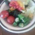 ステーキハンバーグ&サラダバーけん - サラダバー野菜