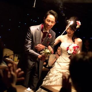 結婚式の二次会・お披露目会にも最適のサービスが整っております