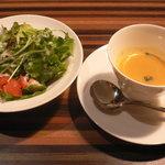 risa-risa 大名店 - サラダ・スープ♪