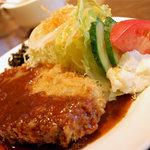 ライラック - 洋風メンチカツ定食¥780