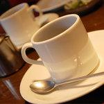ライラック - ランチのセットコーヒー