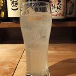 さかなや いぬい - チューハイ:レモン:420円