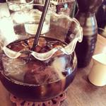 金魚CAFE - アイスコーヒー