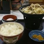 すき家 - 牛すき鍋定食       580円