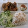 ピクニック - 料理写真:本日のおとなランチ900円 とり天