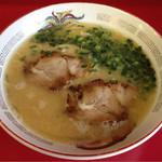 白龍軒 - 料理写真:焼豚と青ネギだけの潔さ!