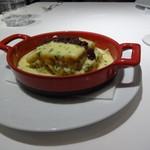 ドルチェ ポンテベッキオ - いろいろな魚介とズッキーニのラザニア 美味しいぃ~♪