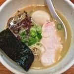24967782 - 鶏の骨ラーメン(¥700)味玉(¥100)3/15/2014