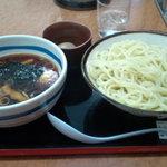 上野大勝軒 甲 - もりそば(中盛)+味玉(830円)